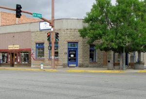 The former First National Bank in Cody, Wyoming