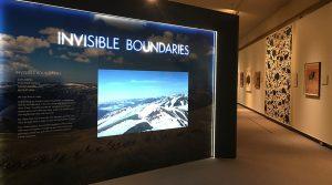 Invisible Boundaries museum exhibit.