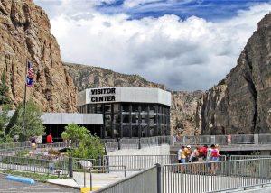The Buffalo Bill Dam outside of Cody, Wyoming.