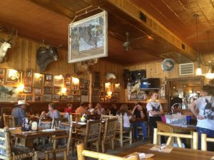 The interior of Proud Cut Saloon in Cody/Yellowstone Country.