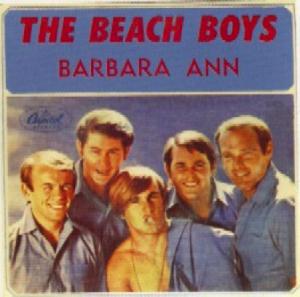 The album sleeve for the Beach Boys single, Barbara Ann