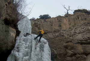 The region boats some of the world's best ice climbing.
