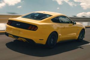 Yellow GT Mustang