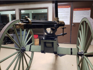 The Model 1862 Gatling Gun at the Cody Firearms Experience