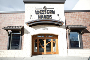 The front entrance of the By Western Hands Museum & Archives