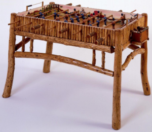 A foosball table inspired by Molesworth