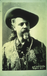 A vintage photo of Bill Cody