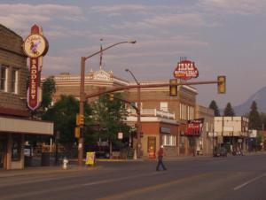 Downtown Cody, Wyoming