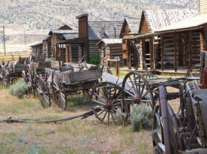 Old Trail Town outside Cody, Wyoming